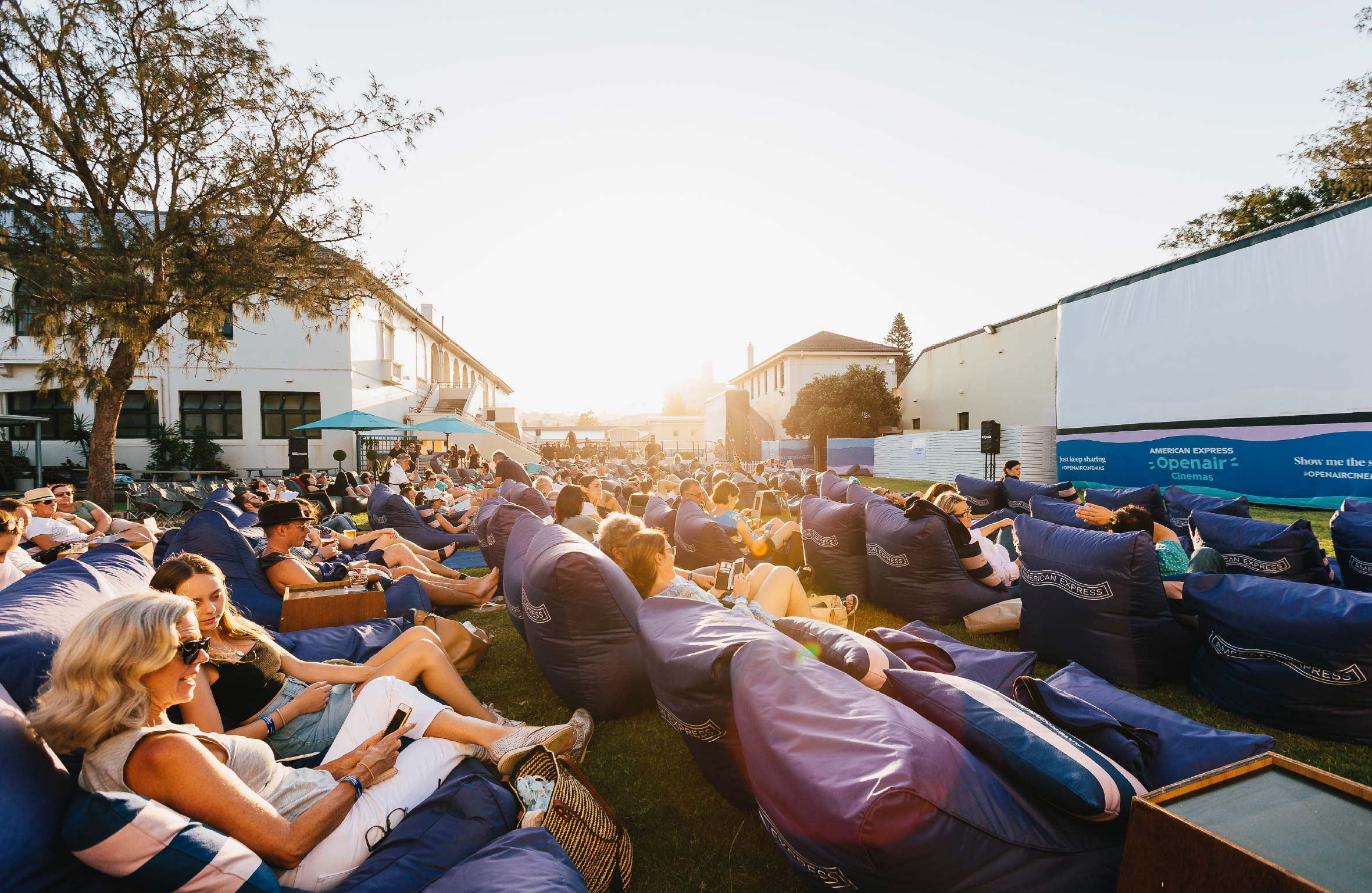 made somewhere project american express openair cinemas 4
